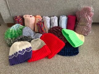Hats, scarves and gloves for Sheffield Women's Refuge