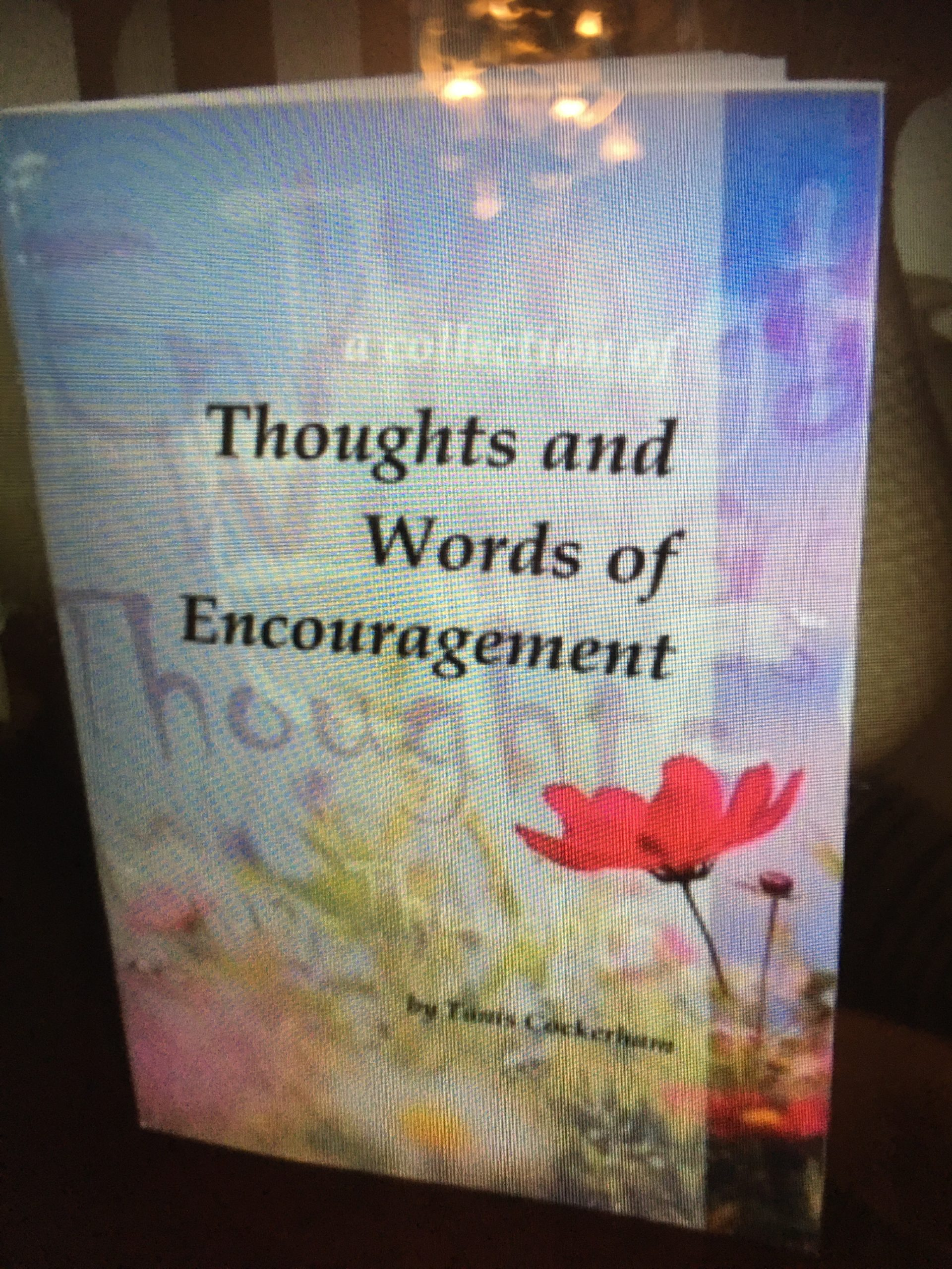 Book of encouragement by Tanis Cockerham