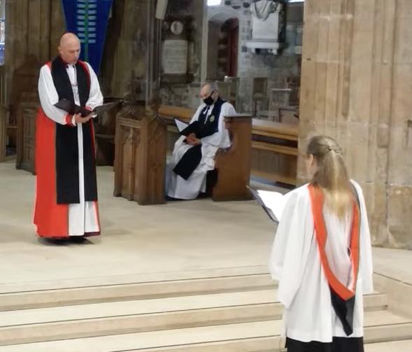 Commissioning of Chaplain 1