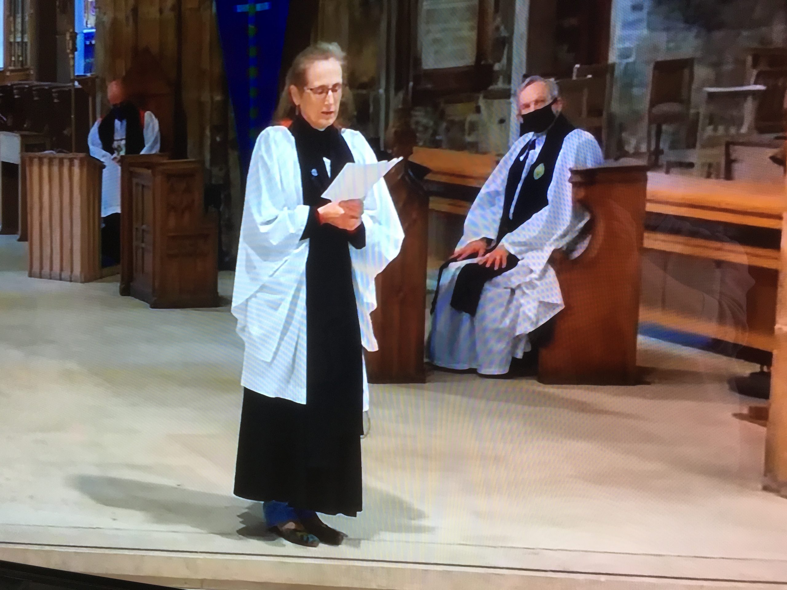 Rev Hilda Isaacson, Chaplain